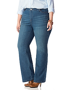 Secret Slimmer™ Boot Cut Synergy Jean (Curvy)
