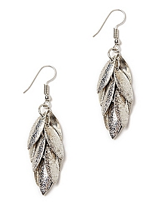 Shimmering Petals Earrings