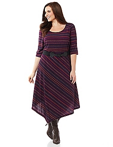 Colorstripe Dress