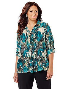 Blooming Leaves Blouse