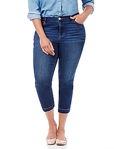 Essential Denim Capri