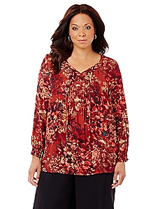 Autumn Blooms Top