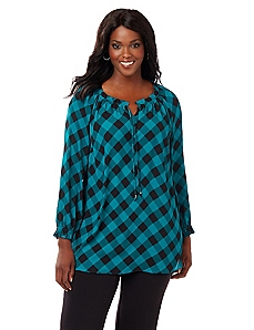 Checkmate Blouse
