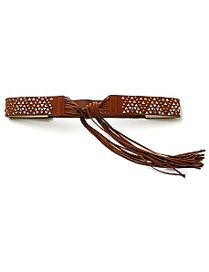 Boho Stretch Fringe Belt