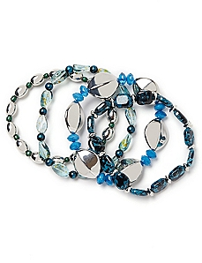 Blue Notes Bracelet Set