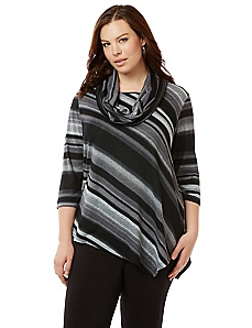 Metro Stripe Top