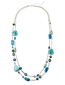 Marquis Mix Necklace