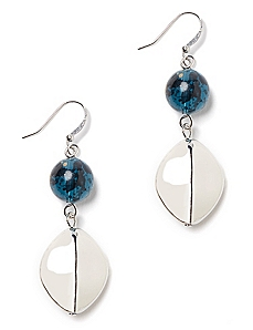 Mirror Shine Drop Earrings