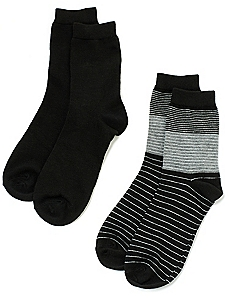 Colorblock 2-Pack Socks