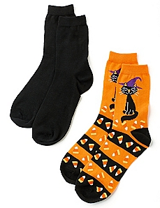 Black Cat 2-Pack Socks