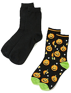 Pumpkin 2-Pack Socks
