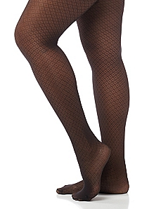 Control Top Diamond Tights