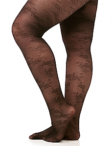 Lace Mini Dot Tights