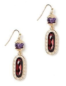 Cornucopia Drop Earrings