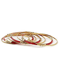 Touch Of Sparkle Bangles