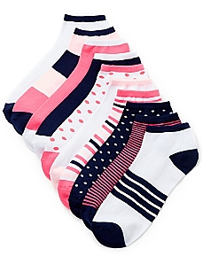 Bright Contrast 10-Pack Socks