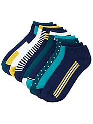 Navy Mix 10-Pack Socks