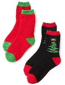 Cozy Tree 2-Pack Socks