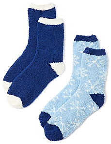 Cozy Snowfall 2-Pack Socks