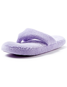 Plush Thong Slippers