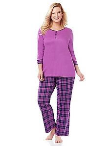 Vibrant Violet Pajamas