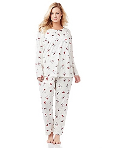 Winter Cardinal Pajamas
