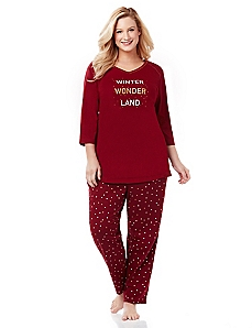 Winter Wonderland Pajamas