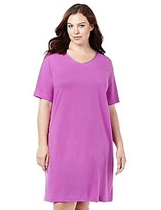 Essential V-Neck Sleepshirt