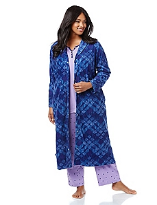 Winter Dreams Fleece Robe
