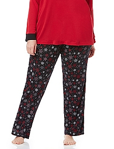 Holiday Wishlist Snowflake Sleep Pant