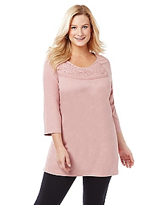 Romantic Lace Easy Fit Tee