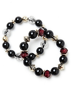 Blackberries Bracelet Set