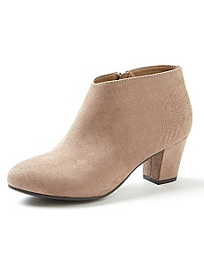 Good Soles Suede Ankle Boot