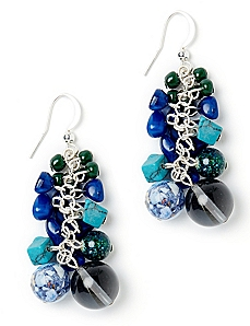 Berry Bead Earrings