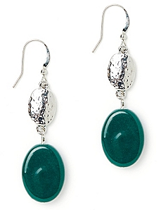 Color Rich Jade Earrings