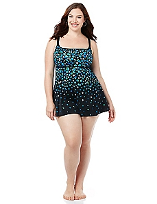 Midnight Garden Swimdress