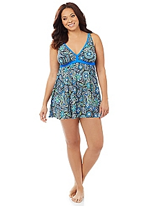 Luxe Garden Swimdress