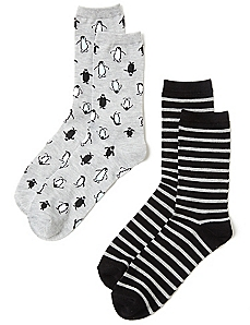 Penguin 2-Pack Socks