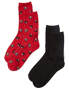 Scottie Dog 2-Pack Socks