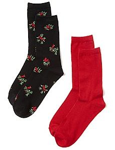 Cardinal 2-Pack Socks