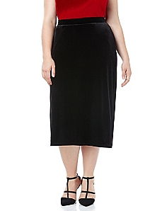 Black Label Velvet Embrace Skirt