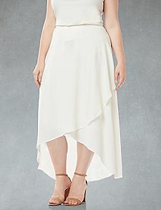Black Label Winter Petals Skirt