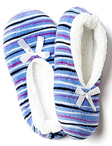 Striped Slipper Socks
