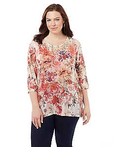 Feminine Flair Top