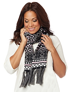 Nordic Print Scarf