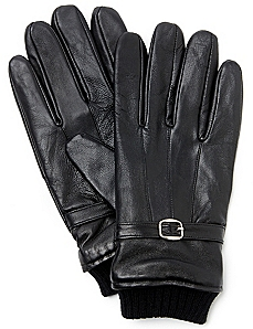 Leather Cuff Gloves