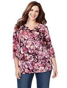 Soft Blooms Top