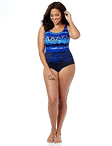Ombre Elegance Swimsuit