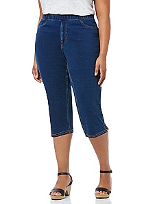 Comfort Fit Jegging Capri