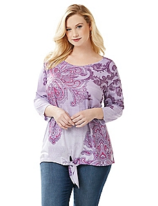 Swirling Medallion Top